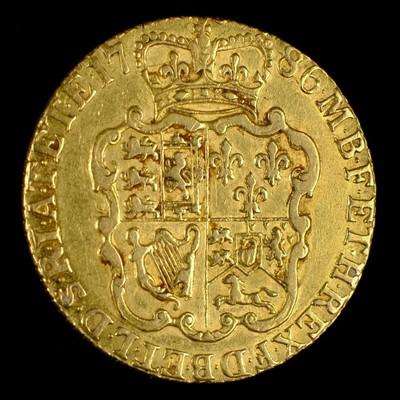 Lot 11-Coin. George III Guinea , 1786