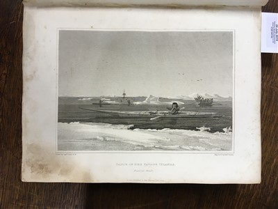 Lot 30-Parry (William Edward). Journal of a Second Voyage for the Discovery of a North-West Passage, 1824