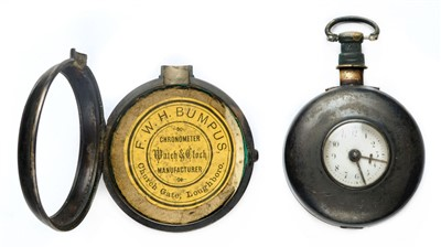 Lot 37-Pocket Watch. A George III silver pair case pocket watch by Henry Spittle of Hathern