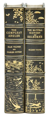 Lot 84-Walton (Izaak). The Compleat Angler [and:] White (Gilbert). Natural History of Selborne, 1904-8