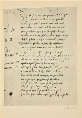 Lot 250 - Manuscript Poem  'Farewell! farewell! We