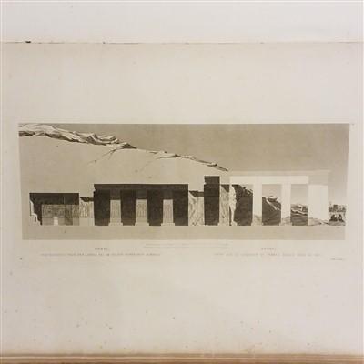 Lot 14-Gau (Francois Chretien). Antiquities de la Nubie, ou monumens inedits des bords du Nil, 1822