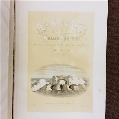 Lot 36-Simpson (William). The Seat of War in the East, 2 parts in one, 1855-56