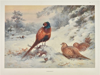 Lot 80-Thorburn (Archibald). Game Birds and Wild-Fowl of Great Britain and Ireland, 1923