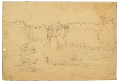 Lot 19-India. 'Cabool Gate, Ghuznee, July 26, 1839'