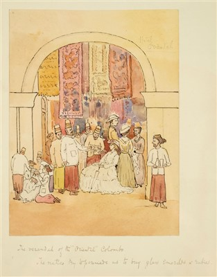 Lot 19-India. 'Cabool Gate, Ghuznee, July 26, 1839'