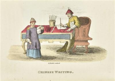 Lot 10 - Breton de la Martinière (Jean-Baptiste). China: its Costume, Arts, Manufactures, 1824