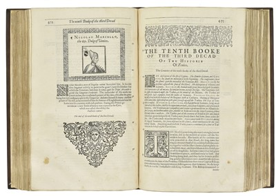 Lot 24-Fougasses (Thomas de). The Generall Historie of the State of Venice, 1st edition in English, 1612