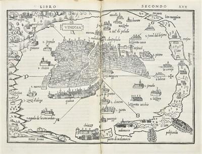 Lot 9 - Bordone (Benedetto). Isolario, 2nd edition, 1534