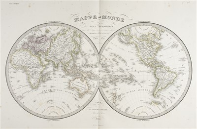 Lot 41-Lapie (Pierre). Atlas Universel de Geographie Ancienne et Moderne, 1841