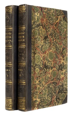 Lot 231-Wordsworth (William). Poems, in Two Volumes, 2 volumes, 1st edition, 1807