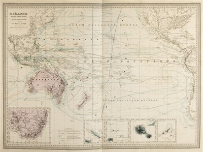 Lot 21-Dufour (Adolphe Hippolyte). Grand Atlas Universel..., Paris, circa 1860
