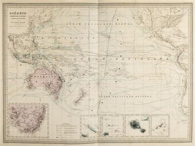 Lot 21 - Dufour (Adolphe Hippolyte). Grand Atlas Universel..., Paris, circa 1860