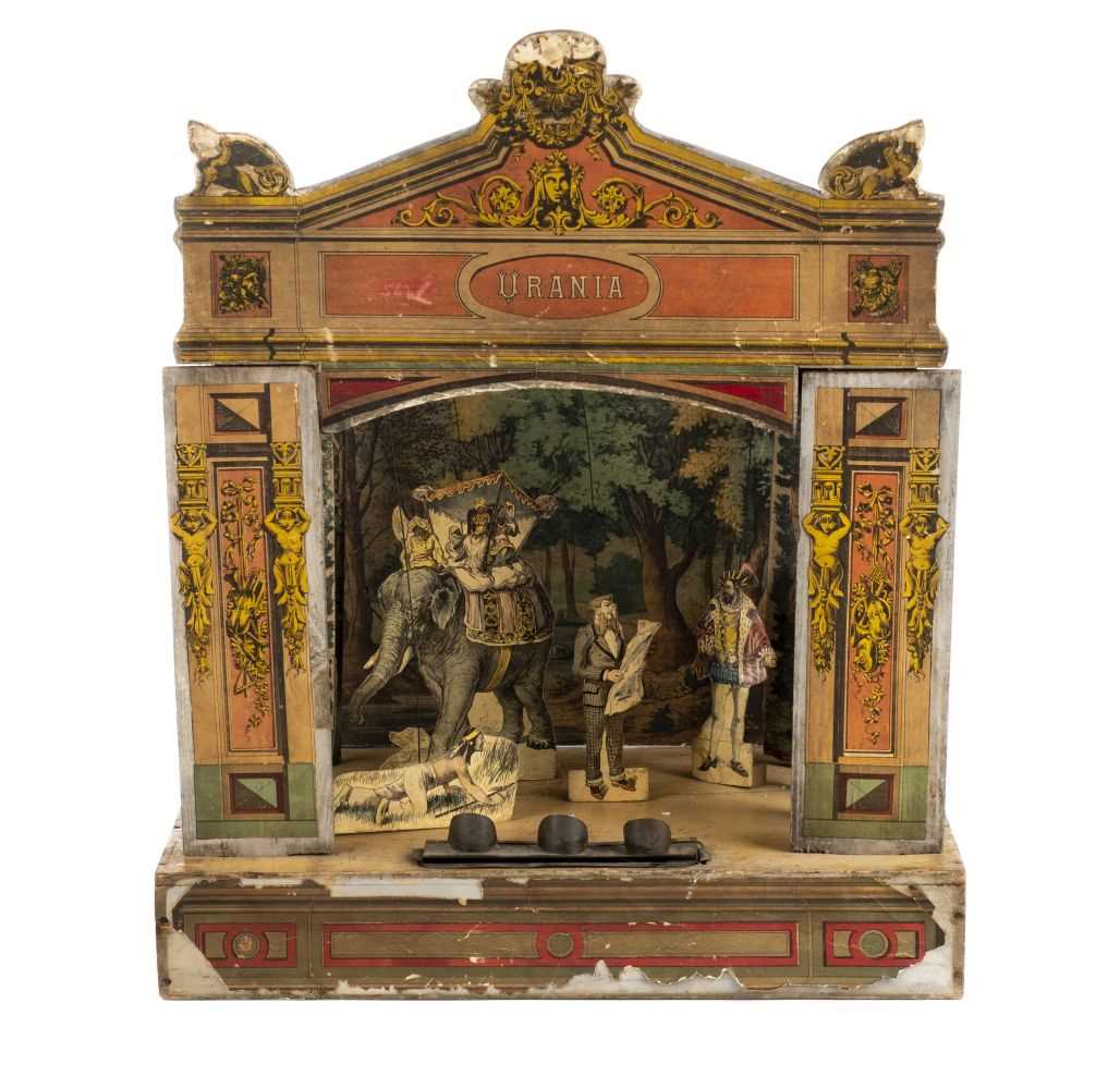 Lot 550-Toy Theatre. Urania Theatre, late 19th century