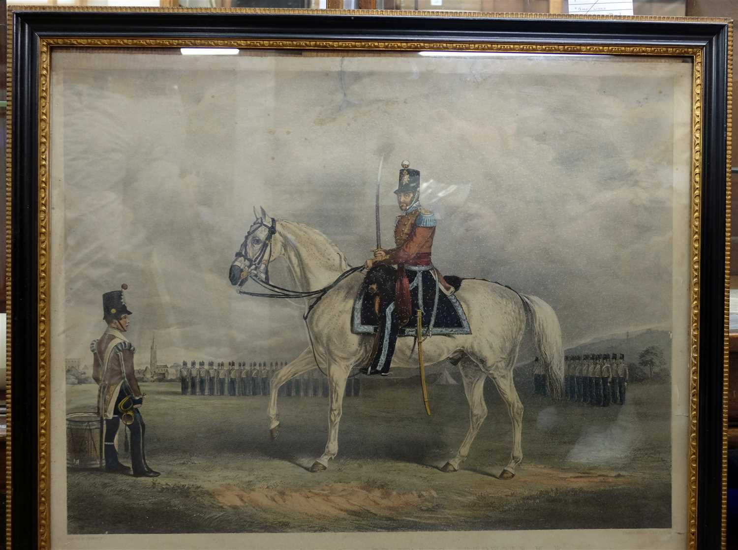 Lot 23-Fernely (J.). Colonel Charles De-Laet Waldo-Sibthorp M.P...., circa 1860
