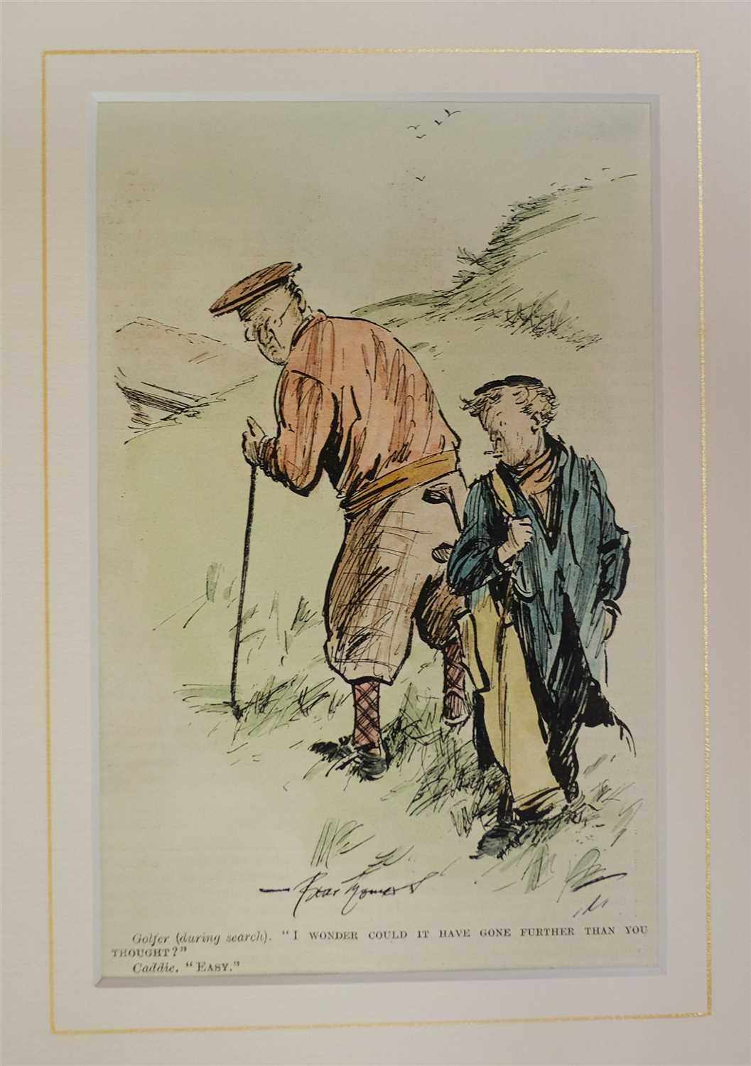 Lot 44-Punch cartoons. A large collection of approximately 1250 cartoons, mostly early 20th century