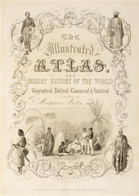Lot 48-Montgomery Martin (R.), Tallis's Illustrated Atlas..., 1851