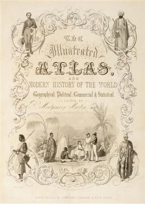 Lot 48 - Montgomery Martin (R.), Tallis's Illustrated Atlas..., 1851