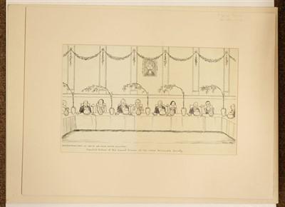 Lot 34-Morrow (George). Annual Dinner of the Omar Khayyam Society