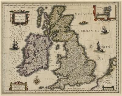 Lot 13-British Isles. Blaeu (G.), Magnae Britanniae..., [1631 or later]