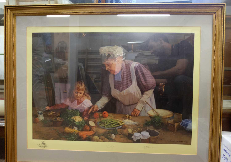 Lot 46-Shepherd (David). Granny's Kitchen, 1990