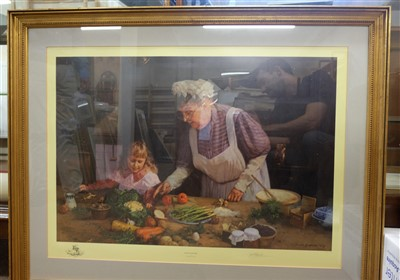 Lot 46-Shepherd (David). Granny's Kitchen, 1990
