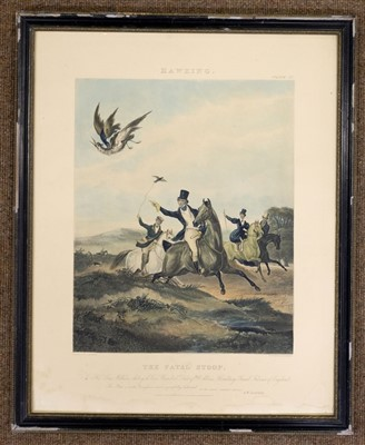 Lot 26-Harris (John). Going to the Moors, 1847 [but 20th century impression]