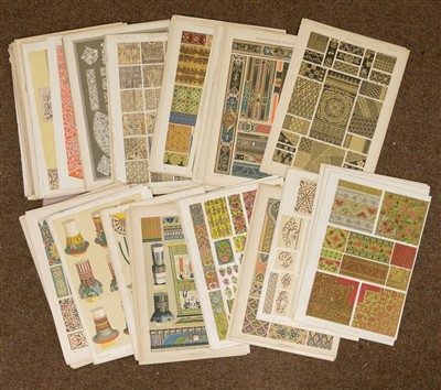 Lot 27-Interiors and Design. A mixed collection of approximately 750 prints, mostly 20th century