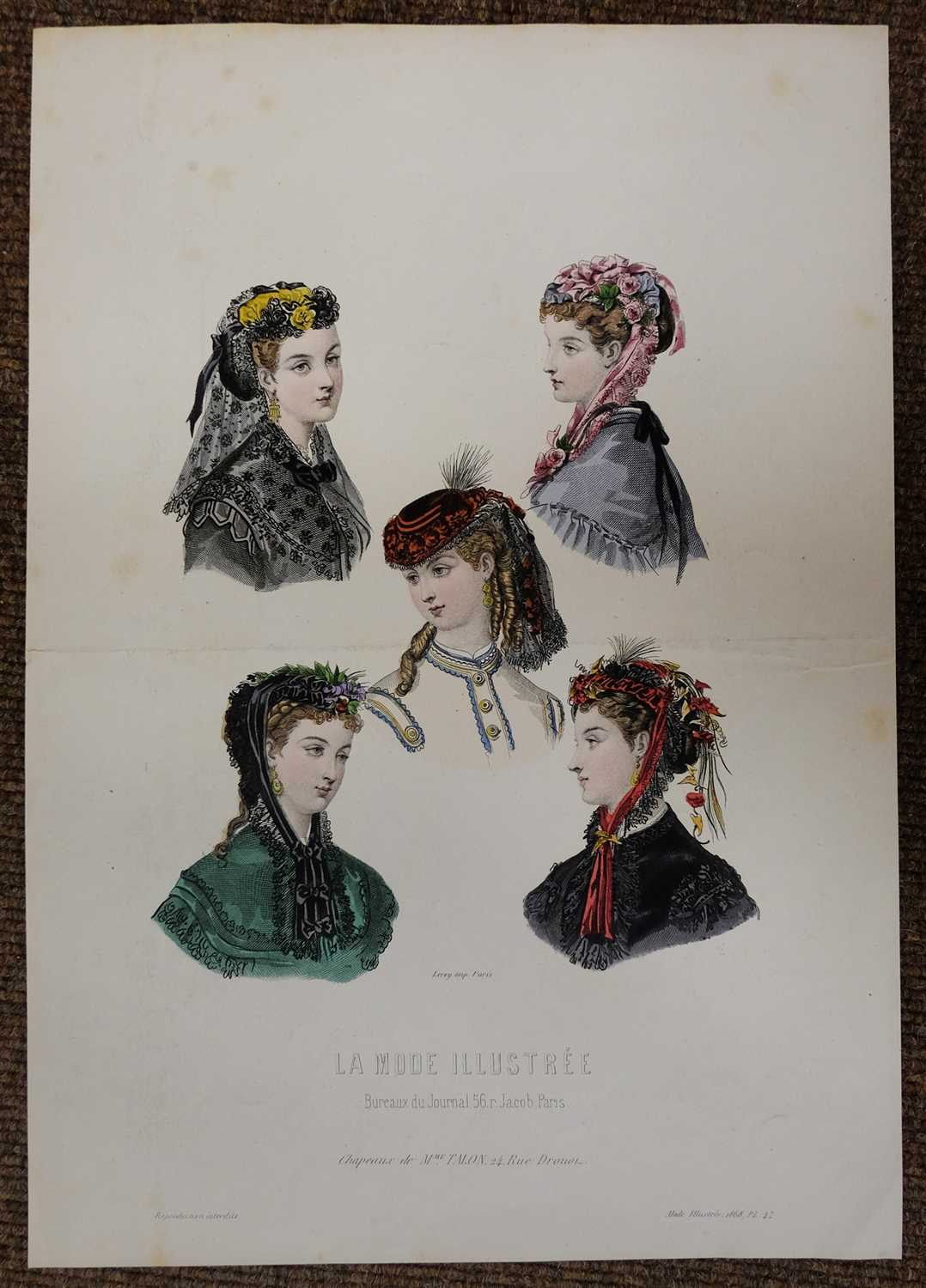 Lot 22-Fashion & Costume. A mixed collection of approximately 550 prints, 19th & 20th century
