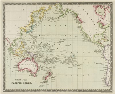 Lot 41-Oceania. A mixed collection of 60 maps, 19th century