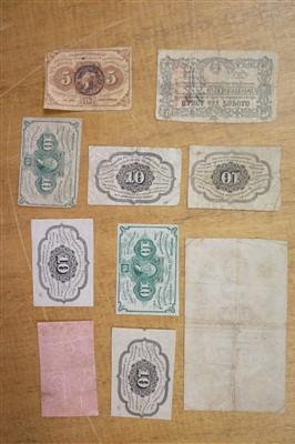 Lot 46 - Banknotes. 19th century American banknotes