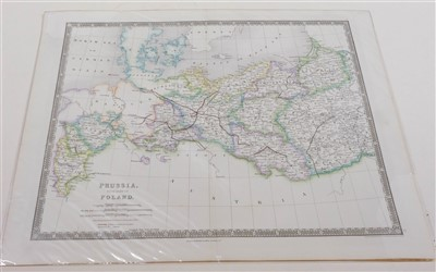 Lot 26-Germany and Eastern Europe. A mixed collection of 58 maps, 18th & 19th century