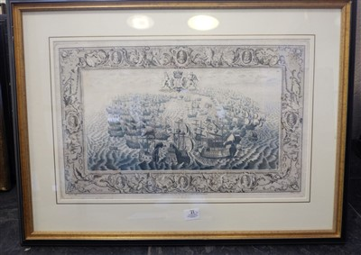 Lot 43-Prints & engravings. A mixed collection of fifty-three prints, mostly 19th century