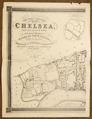 Lot 7-Maps. A mixed collection of approximately twenty maps, mostly 18th & 19th century