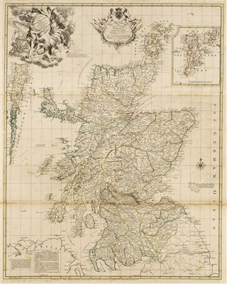 Lot 48-Scotland. Elphinstone (John), A New & Correct Mercator's Map of North Britain..., 1745