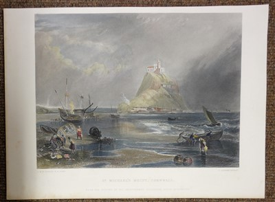 Lot 40-Prints & engravings. A mixed collection of approximately 425 prints, 19th & 20th century