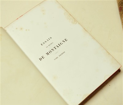 Lot 95-Bindings. Lettres du Roy Louis XII, 4 volumes, 1712