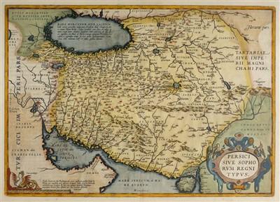 Lot 43-Persia. Ortelius (Abraham), Persici sive Sophorum Regni Typus, [1612]