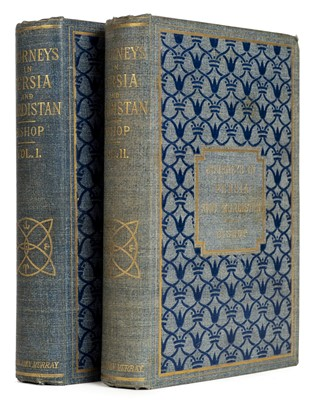 Lot 7-Bishop (Isabella, née Bird). Journeys in Persia and Kurdistan, 1st edition, 1891