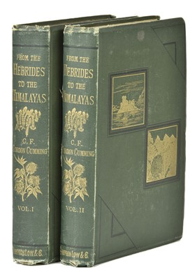 Lot 16-Cumming (Constance F. Gordon-). From the Hebrides to the Himalayas, 1st edition, 1876, inscribed