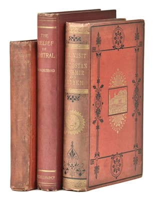 Lot 3-Aynsley (Harriet Georgiana). Our Visit to Hindostan, Kashmir, and Ladakh, 1st edition, 1879