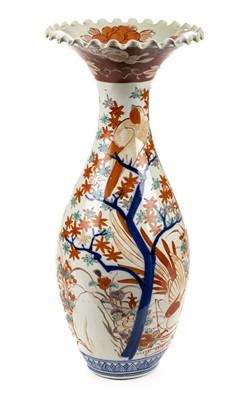 Lot 81 - Imari vase. A large and impressive Japanese Imari vase circa 1870