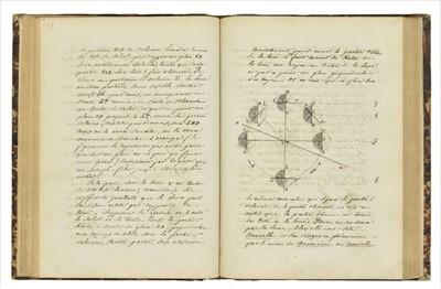Lot 391 - Cosmography. Cours de Cosmographie (d'apres Mr Hauser), Dufort, Lycee de Lyon, 1850-51