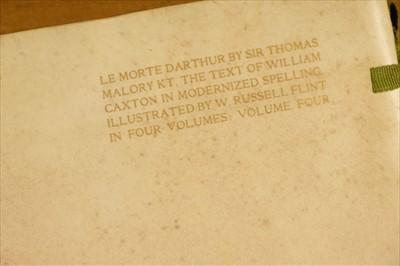 Lot 621 - Flint (Sir William Russell). Le Morte Darthur, 1910-11