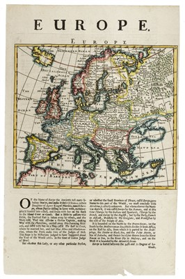 Lot 45-Russia & Europe. A mixed collection of approximately 40 maps, mostly 19th century