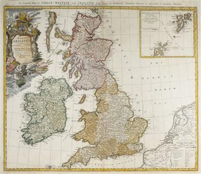 Lot 15-British Isles. Homann (Johann Baptist, Heirs of), Magna Britannia complectens..., circa 1730