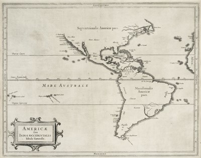 Lot 3-Americas. De Laet (Joannes), Americae ...., circa 1630