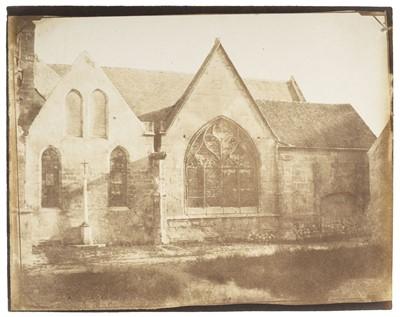 Lot 14-Jeuffrain (Paul, 1808-1896). A French Norman Church, 1850s