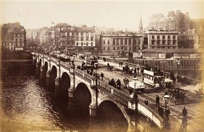 Lot 4-Great Britain. An album of 115 mounted albumen prints, c. 1880