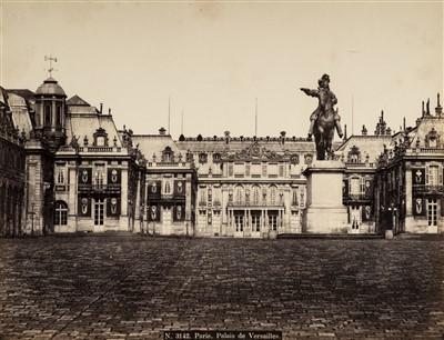 Lot 16-Paris. A group of 24 mounted albumen print views, c. 1870